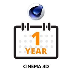 Maxon Cinema 4D Subscription 1 Year